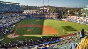 Dodger Stadium Infield Reserve 10 Rateyourseats Com