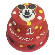 Mickey Mouse Cake Online Free Home Delivery Yummycake