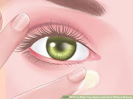 image led make your eyes look good without makeup step 7 how to