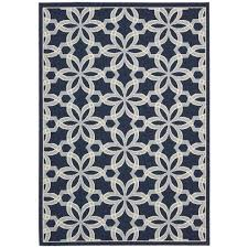 this review is from caribbean navy 8 ft x 11 ft indoor outdoor area rug