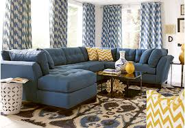 Living Room With Sectional Set