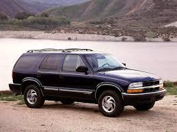 CHEVROLET Blazer 5 doors specs - 1995, 1996, 1997, 1998, 1999 ...