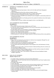 Data Warehouse Resume Examples Data Warehouse Analyst Resume Samples Velvet Jobs 27