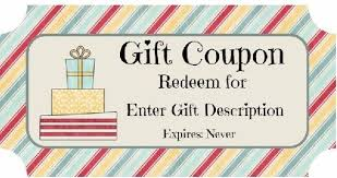 Customized Gift Certificates Customizable Gift Certificate Template Free Magdalene