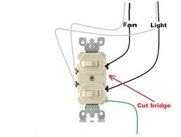 wiring diagram for a double switch readingrat net how to wire a double switch to two separate lights at Wiring Diagram For A Double Light Switch