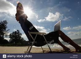 Man Silhouette Chair Back View Stock Photos Man Silhouette Chair