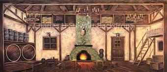 tavern interior backdrop