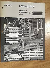 original sony service manual for the cdx 5 cd player • 14 98 original sony service manual for the cdx 5 cd player 2