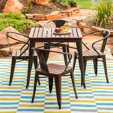 discount outdoor dining table. clearance. jardin 5-piece outdoor dining set discount table