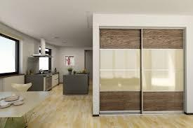 black and white matelac sliding partition doors