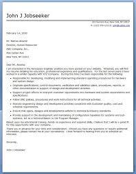Aerospace Engineer Sample Resume Inspiration Aerospace Engineer Cover Letter Sample Creative Resume Design