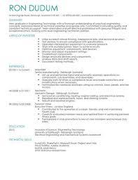 Technical Skills Cv Engineering Technician Cv Template Cv Samples Examples