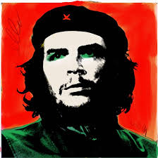 thomas hussung portrait print che guevara in the style of andy warhol