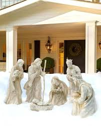 outdoor nativity sets luxury set balsam hill nativities of costco new furniture dining table elegant tables outdoor nativity sets