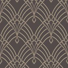 rasch astoria art deco pattern wallpaper retro arch embossed metallic glitter motif 305319