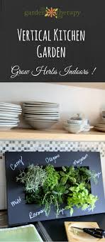 Vertical Herb Garden In Your Kitchen This Vertical Herb Planter Will Spice Up Your Kitchen Garden Therapy