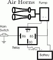 air horn relay wiring diagram air wiring diagrams wiring diagrams air horn relays jodebal com