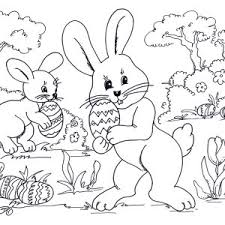 Small Picture Coloring Pages Easter Coloring For Kids Printable Kids adult