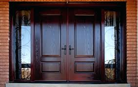 Craftsman Double Entry Doors Double Front Doors With Sidelights
