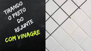 Selecione a imagem do piso: Limpando O Preto Do Rejunte Somente Com Vinagre Super Funciona Youtube