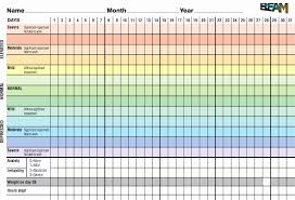 Daily Mood Chart For Bipolar Disorder 7 Daily Mood Chart 7 Best Images Of Bipolar Monthly Mood