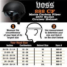 Voss 888 Cf Helmet Size Chart Quickimage Eatsleepride