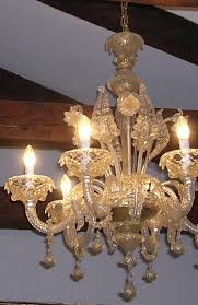 how to clean murano chandeliers