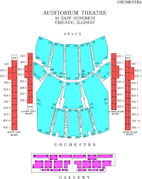 Sherman Theater Summer Stage Seating Chart 40 Rational Chicago Symphony Center Detailed Seating Chart