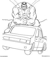 Hulk Kleurplaat 85485 Kleurplaat