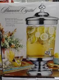glass beverage dispenser with spigot costco designs
