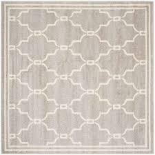 amherst light gray ivory 9 ft x 9 ft indoor outdoor square