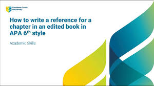 Books Apa 6th Edition Scu Referencing Guide Libguides At