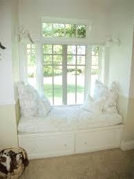 amazing bay windows design with comfy red seats cushions bay window seat cushion