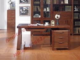 study room furniture design. Solid Wood Antique Design Furniture Desk With Drawers In Home Study Room Use