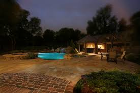 if you are adding an outdoor living space like a pergola deck or patio or if you already have one imagine what a difference outdoor lighting will make