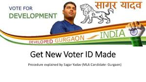 Make An Id Card How To Make Voter Id Card In Gurgaon
