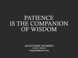 St Augustine Of Hippo Quotes Custom Augustine Of Hippo Patience Quotes Inspiration Boost Inspiration