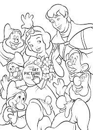 Small Picture All from Snow White coloring pages for kids printable free