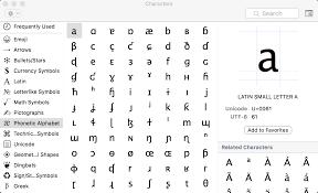 How Do I Type With Ipa International Phonetic Alphabet