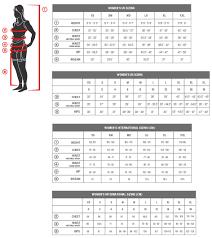 Usa Pro Size Chart Aventura Clothing Size Charts