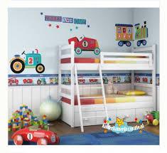 Behang Kinderkamer Tractor