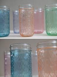 Decorating Jam Jars For Candles DIY Tinted Mason Jars Glass Paint And Martha Stewart 72