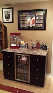 movie room furniture. concession stand great add on for movie night some shelves above glasses room furniture