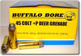 Ballistics Chart 45 Long Colt 45 Colt P Deer Grenade Pistol Handgun Ammunition