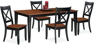 table and 4 side chairs black cherry value city nantucket furniture dining room tree
