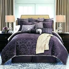 purple king bed purple bedding sets plum comforter set queen king size duvet intended for decorations