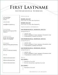Curriculum Vitae Resume Format Doc Word Job Resume Template Co Free Download A Curriculum Vitae Format