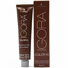 Schwarzkopf Igora Color10 Permanent 10 Minute Color Creme 2 1 Fl Oz 60 G