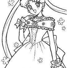 Small Picture Princess serenity coloring pages Hellokidscom