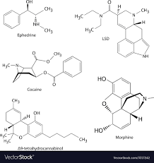 Chemical Formulas Of Illicit Drugs And Substances